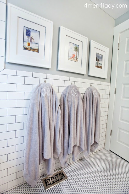 Boys Bathroom Design - Transitional - bathroom - Benjamin Moore ...