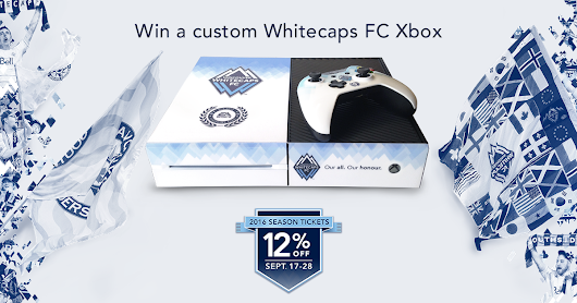 Win a custom Whitecaps FC Xbox!