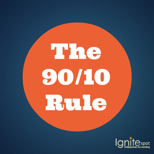 #1 Profit Coaching Tip: The 90/10 Rule