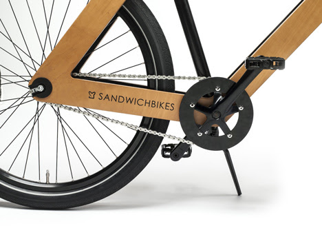 Sandwichbike by PedalFactory