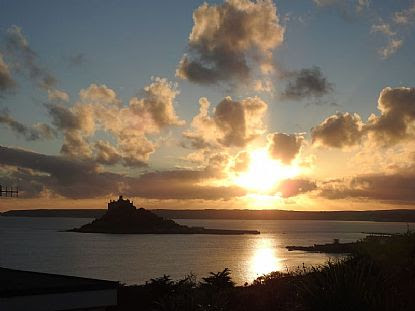 Photo of St Michael's Mount at Sunset | Cornwall Coastal Views in Cornwall | into Cornwall Photo Gallery | browse photographs online | Cornish scenes by Into Cornwall