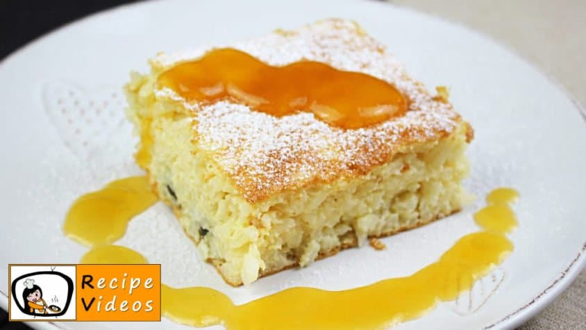 BAKED RICE PUDDING RECIPE WITH VIDEO - simple Baked rice ...