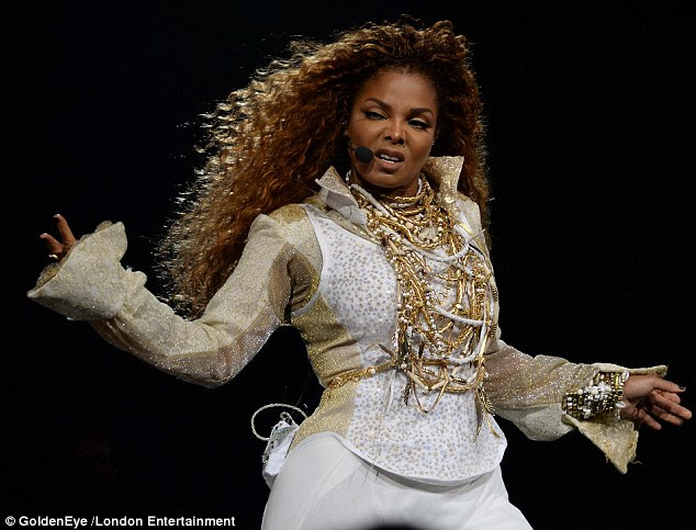 Triumphant return: Janet Jackson wowed on the opening night of her Unbreakable Tour  in Vancouver, Canada on Monday night