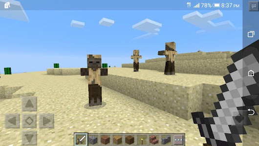 "» MCPENewsfeed sur Twitter: ""MCPENewsfeed: A new desert zombie is coming to MCPC: 1.10. And it's also coming to #MCPE 0.15.0! Named ""husk"" """