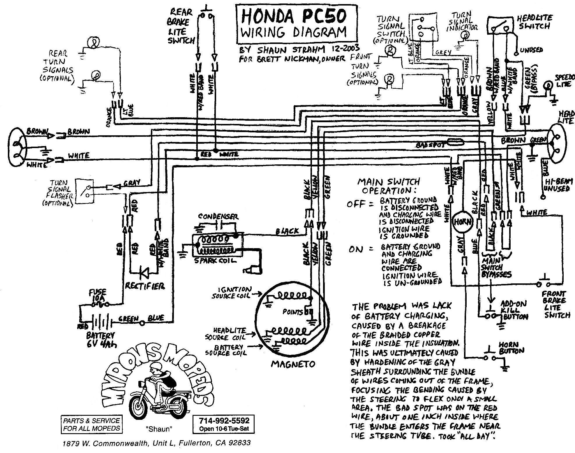 Diagram Wiring Diagram Honda Dio Full Version Hd Quality Honda Dio Diagramstana Dolcialchimie It