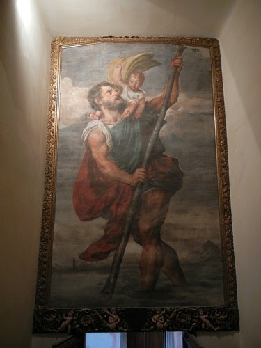 DSCN0091 _ San Christopher, Titian, Palazzo Ducale, Venezia, 11 October