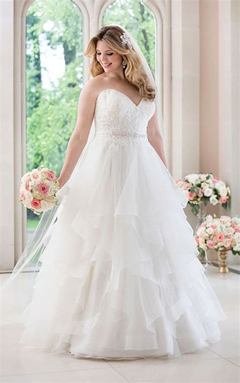 511 Best images about Plus Size Wedding Dresses on