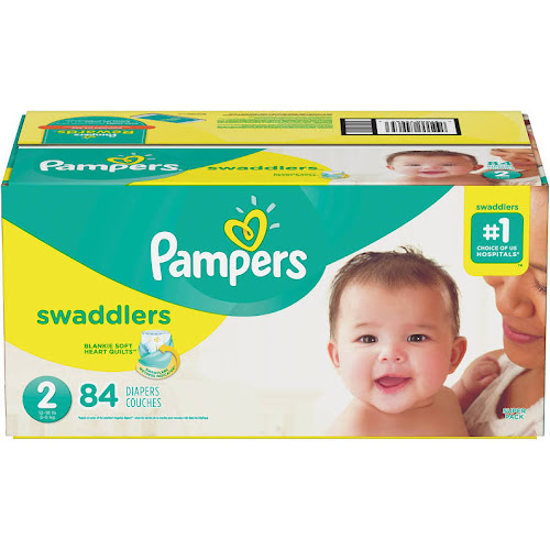 4d9d2489a6c1 Pampers Swaddlers Diapers Size 2 - 84 count - Google Express