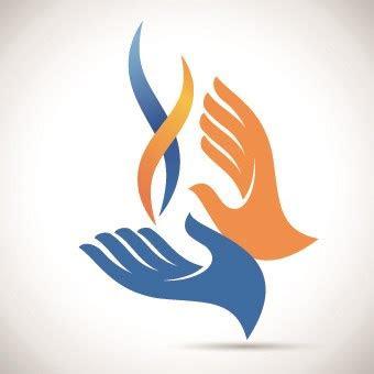 hands logo design vector