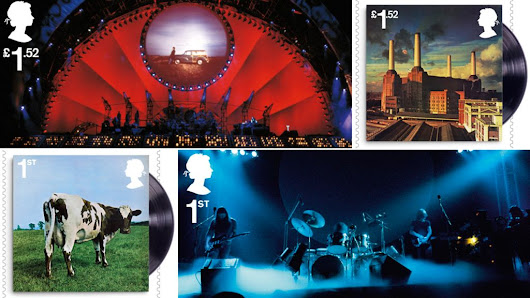 Royal Mail unveils stamps to mark 50 years of Pink Floyd - BBC News