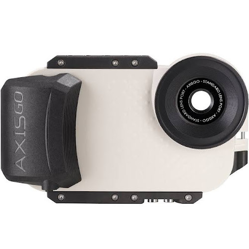 AxisGO Water Housing for iPhone 7/8 Seashell White
