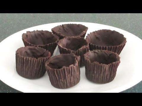 Homemade Chocolate Dessert Cups Recipe - YouTube