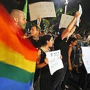 Les manifestants ont aussi accusé le parti séfarade orthodoxe Shas d'inciter par ces déclarations à la haine contre les gays.
