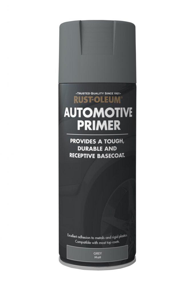 Automotive Primer Spray Paint - Rustoleum Spray Paint