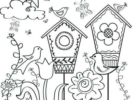 Annette Lux Free Coloring Pages Coloring Pages Spring