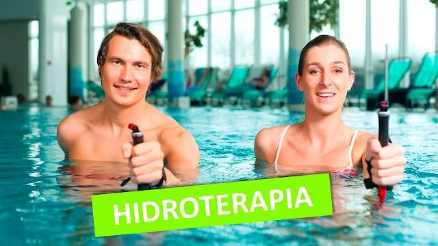 Video-aula sobre Hidroterapia em Joelhos
