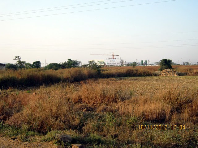 Site of Collina at Kanhe from Old Mumbai Pune Highway - N H 4