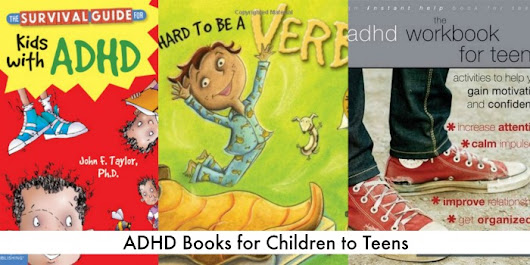 ADHD Books for Kids To Teens | The Jenny Evolution