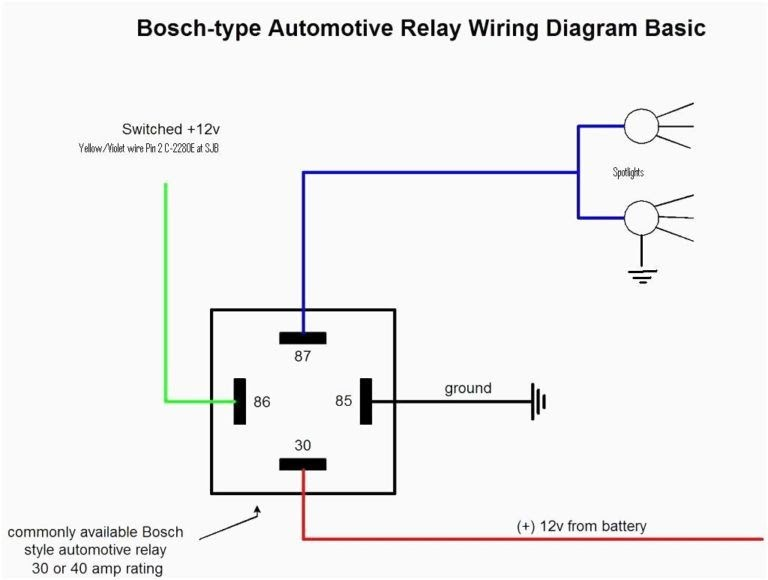 12 Volt Relay Wiring Diagrams Neutral Safety Switch ...
