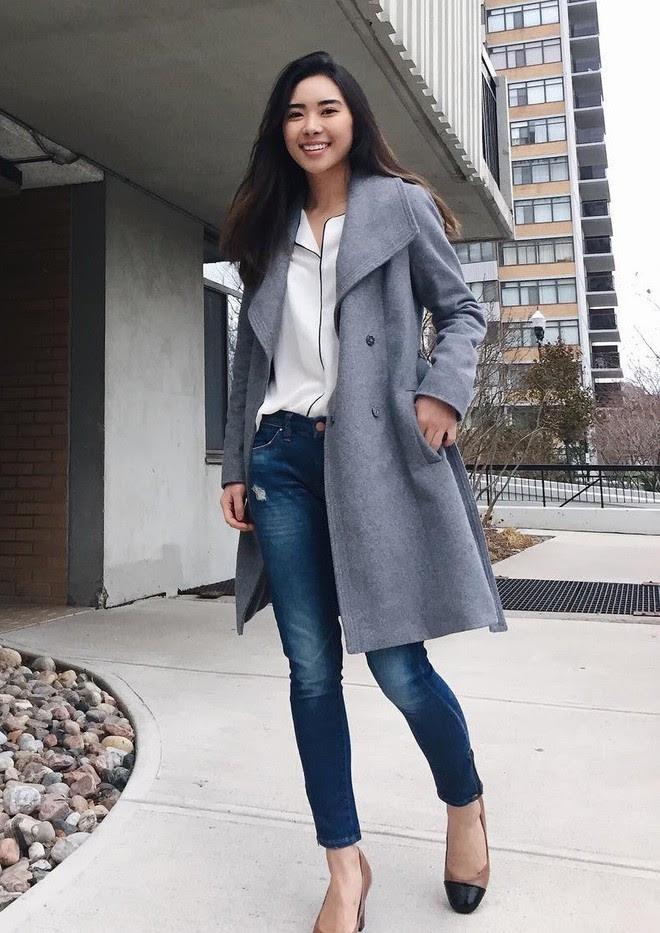 Mùa đông suốt ngày mặc áo khoác dáng dài, nhưng mix sao cho đúng thì bạn đừng bỏ qua 6 công thức sau - Ảnh 6.