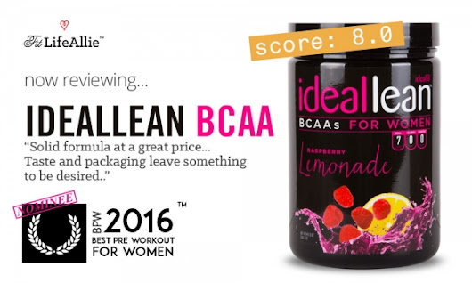 Idealfit BCAA Review: Lousy Taste But a Wonderful Formula