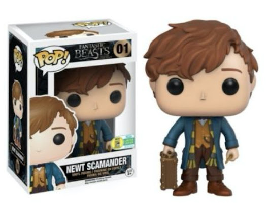 Funko POP Fantastic Beasts Where to Find Them Newt Scamander 01