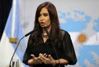 Cristina Fernández, presidenta de Argentina. Foto: AP