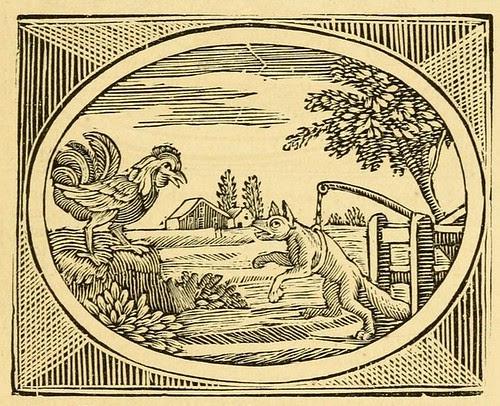 Vulpes et Gallus