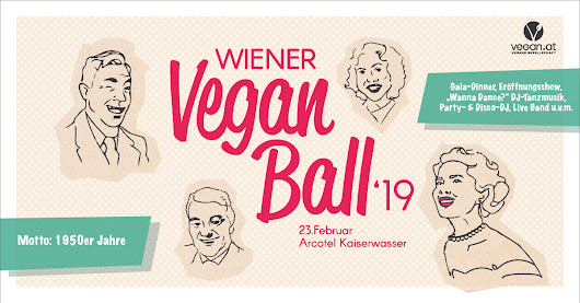 Give-Away! Gewinnt 2 Mal 2 Karten für den Wiener Vegan Ball 2019! | The bird's new nest