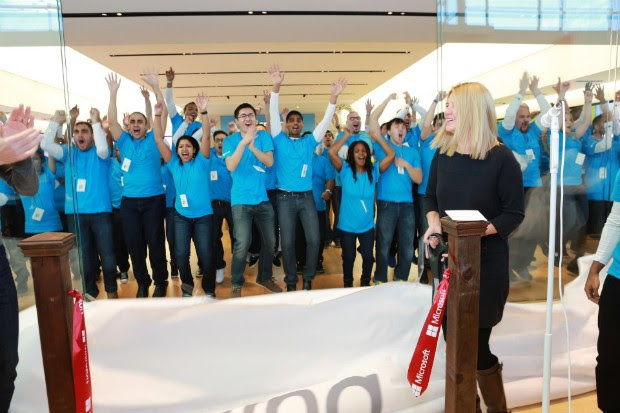 DNP Microsoft's first international store now open for business