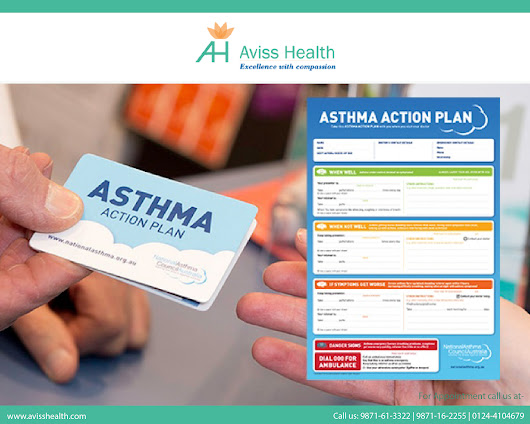 "Why should asthma patients maintain a ""written action plan?"" 