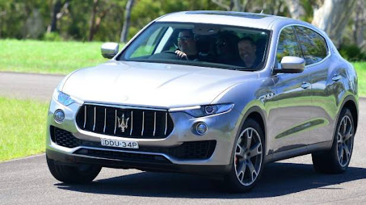 Maserati stays firm on sporty character with Levante SUV