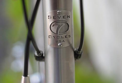 Seven Cycles Headbadge