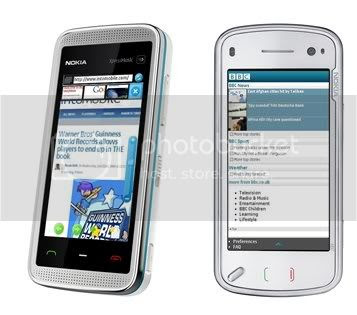 Fast web browser for Nokia 5800, N97 and other S60 5th edition mobiles