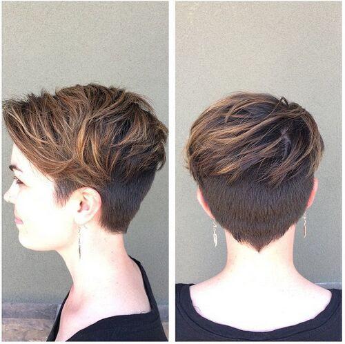31 Großartige Kurzhaarfrisuren Für Frauen Frisuren Trend