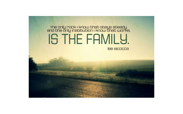 Family Is The Most Important Thing In The World Wondrlust