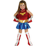 Wonder Woman Toddler Costume - 6072 - Blue/Red