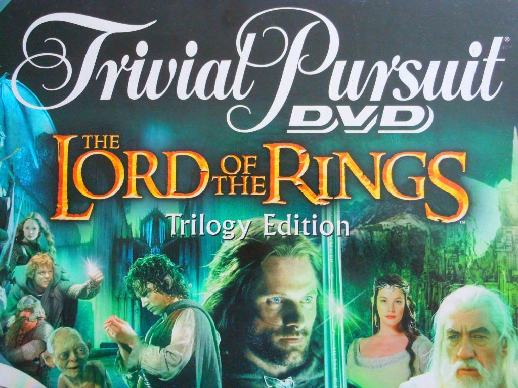 Trivial Pursuit DVD: The Lord of the Rings Trilogy Edition