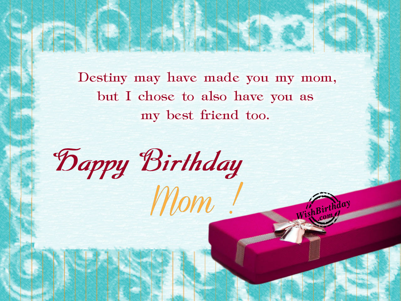Birthday Wishes For Mother - Birthday Images, Pictures
