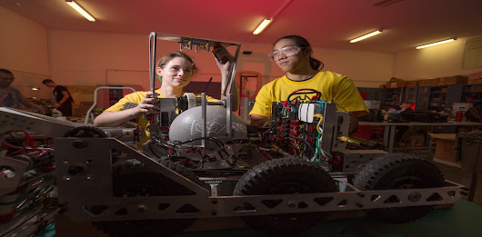 Want to inspire kids to learn STEM? Get them to build a robot