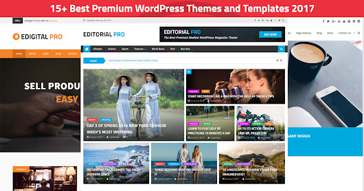 15+ Best Premium WordPress Themes and Templates 2017