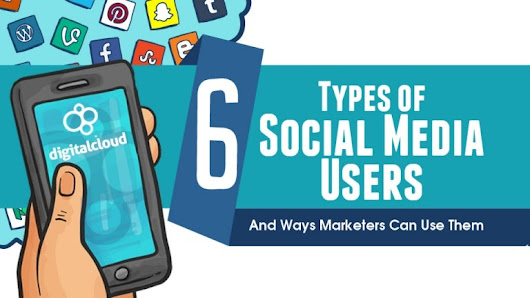 6 Types of Social Media Users and Ways Marketers Can Use Them