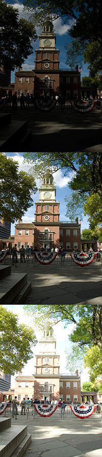 Independence Hall HDR Example