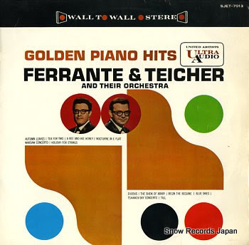 FERRANTE & TEICHER golden piano hits