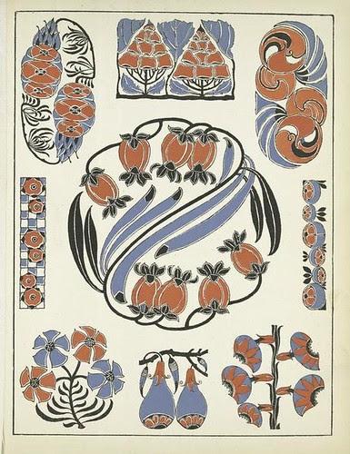 Art Deco Vignettes - Henri Gillet 1922 j