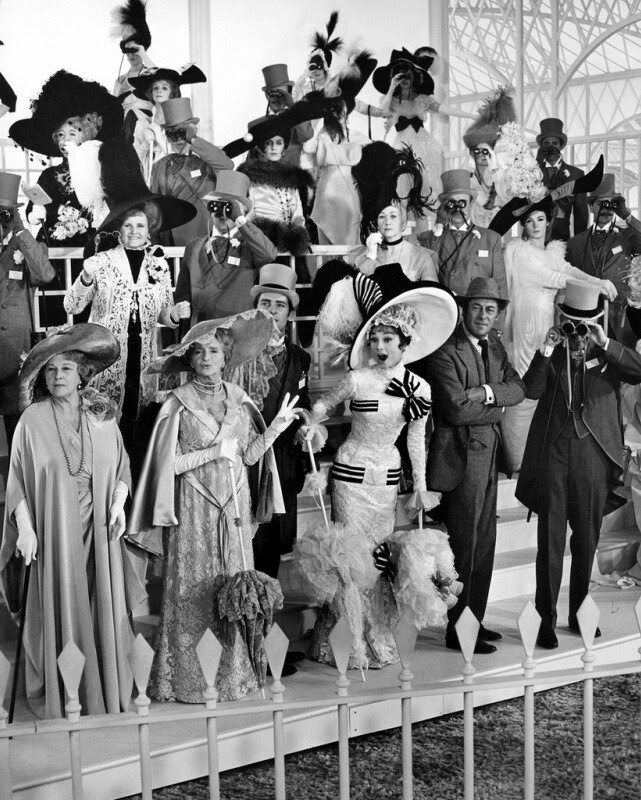 gladys cooper, audrey hepburn & rex harrison - my fair lady 1964