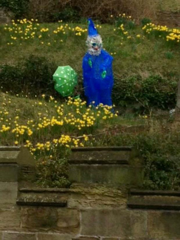 The Northern Echo: Police hunt for 8ft garden gnome stolen from Durham Castle