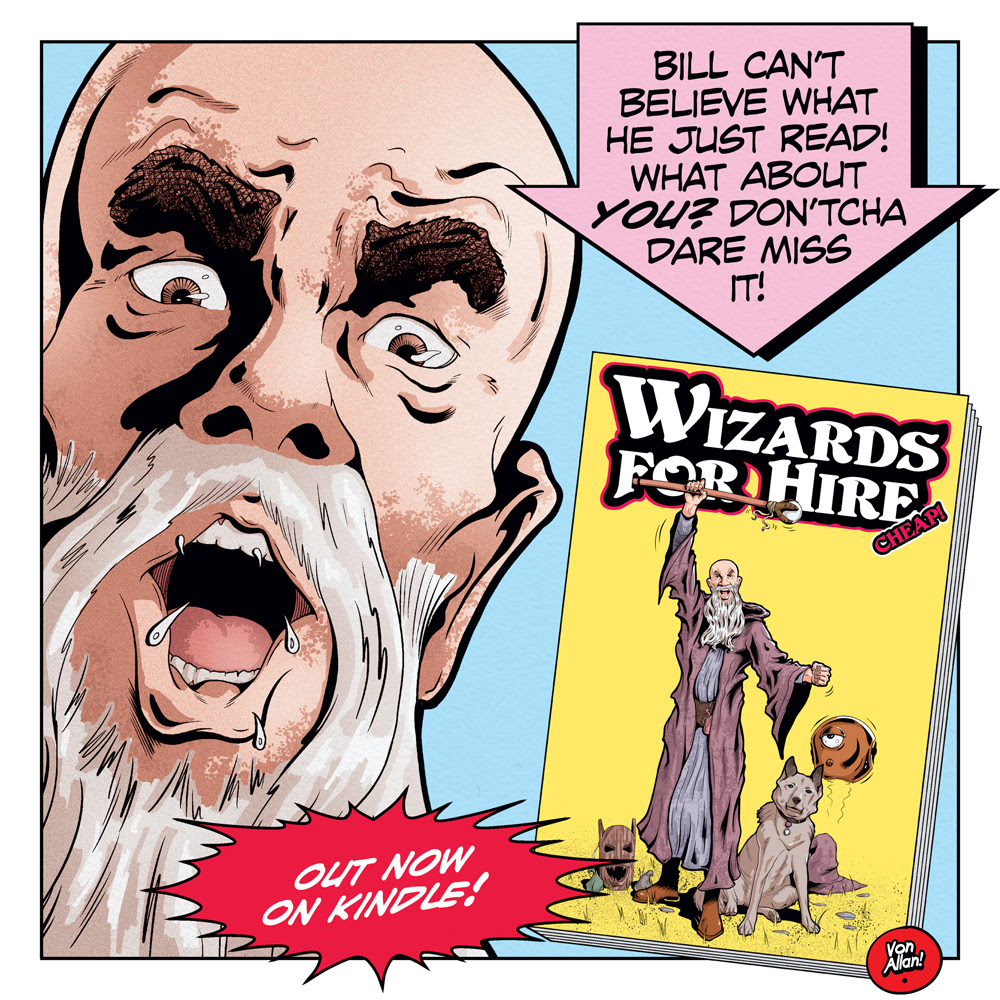 Link to Wizards for Hire - Cheap! on Amazon's Kindle