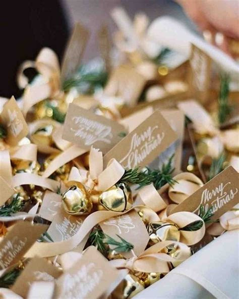 32 Unique Ideas for Winter Wedding Favors   Martha Stewart