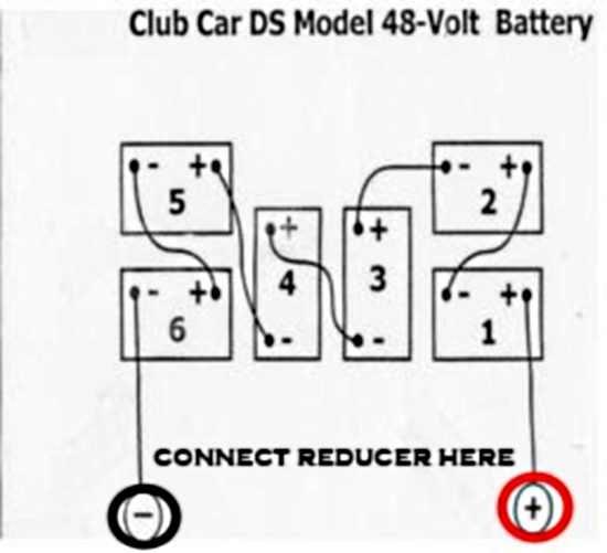 Golf Cart Voltage Reducer Wiring Diagram - Hanenhuusholli